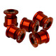NC-17 Chainring bolt 4 and 5 hole BCD red